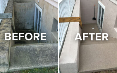How Painting Companies Prep Foundations and Basement Steps for Painting